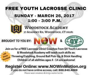 FREE Youth Lacrosse Clinic